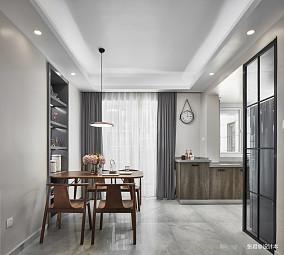 轻奢122平现代三居餐厅装饰美图厨房现代简约设计图片赏析