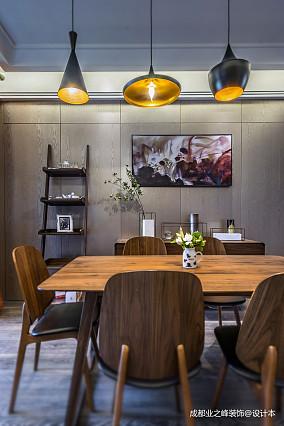 典雅325平现代别墅餐厅装饰图别墅豪宅现代简约家装装修案例效果图