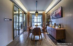 简洁429平现代别墅餐厅设计美图别墅豪宅现代简约家装装修案例效果图
