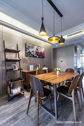 优美520平现代别墅餐厅设计美图别墅豪宅现代简约家装装修案例效果图