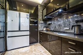 贝森公馆厨房装修设计别墅豪宅现代简约家装装修案例效果图