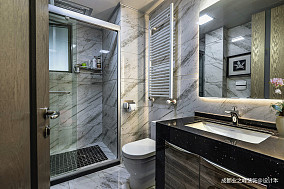 平现代别墅卫生间美图别墅豪宅现代简约家装装修案例效果图
