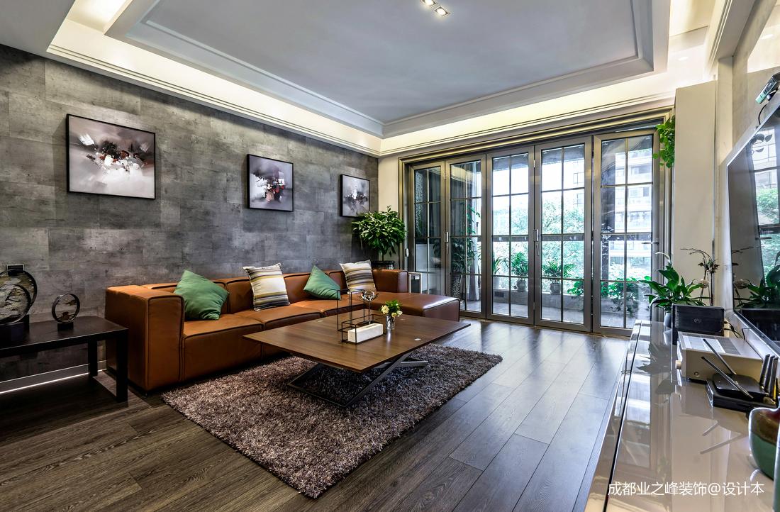 轻奢180平现代别墅客厅装修装饰图别墅豪宅现代简约家装装修案例效果图