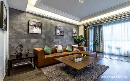 悠雅271平现代别墅客厅实景图片
