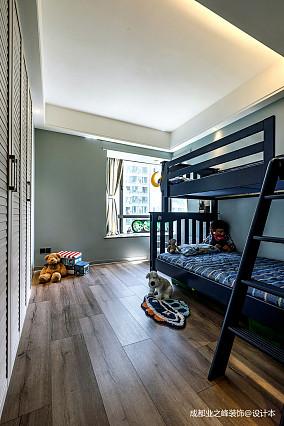 温馨991平现代别墅儿童房案例图别墅豪宅现代简约家装装修案例效果图