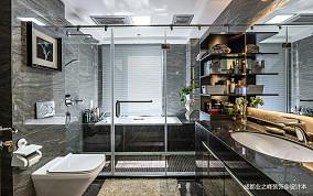 大气448平现代别墅卫生间案例图别墅豪宅现代简约家装装修案例效果图