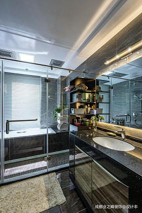 优美797平现代别墅卫生间装饰美图别墅豪宅现代简约家装装修案例效果图