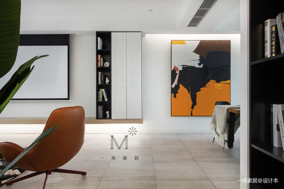 精美134平现代二居装修美图二居现代简约家装装修案例效果图