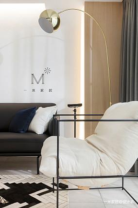明亮62平现代二居图片欣赏二居现代简约家装装修案例效果图