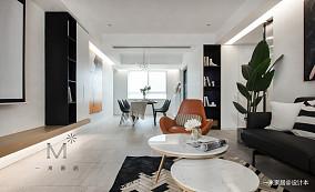 简洁60平现代二居客厅图片欣赏二居现代简约家装装修案例效果图