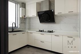明亮55平现代二居装潢图二居现代简约家装装修案例效果图