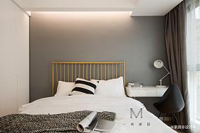 优雅85平现代二居效果图二居现代简约家装装修案例效果图