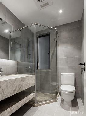 华丽78平现代二居卫生间设计案例