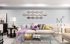 典雅54平美式二居装修图片二居美式经典家装装修案例效果图