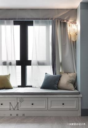 温馨58平美式二居装饰图家装装修案例效果图