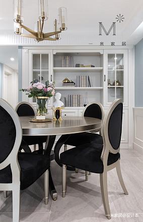 精美72平美式二居餐厅美图二居美式经典家装装修案例效果图