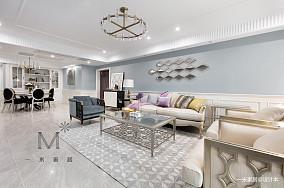 悠雅62平美式二居装修案例二居美式经典家装装修案例效果图