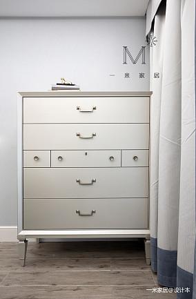 华丽68平美式二居装修效果图家装装修案例效果图