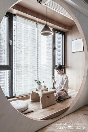 精美74平日式二居阳台装饰美图