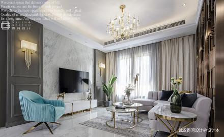 华丽280平现代别墅客厅实拍图客厅