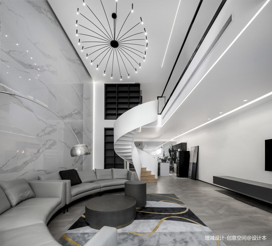 质朴700平现代别墅客厅装修图片别墅豪宅现代简约家装装修案例效果图