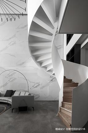精美990平现代别墅客厅效果图别墅豪宅现代简约家装装修案例效果图