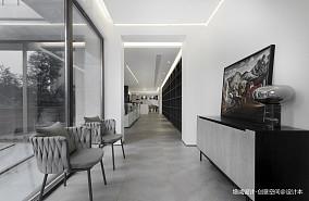 精美408平现代别墅玄关装饰美图别墅豪宅现代简约家装装修案例效果图