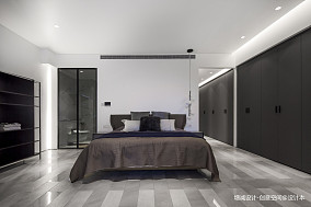 悠雅609平现代别墅卧室装修装饰图别墅豪宅现代简约家装装修案例效果图