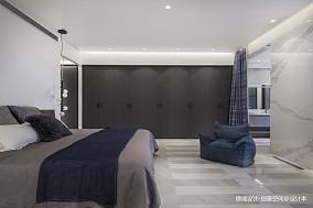 轻奢585平现代别墅卧室装潢图别墅豪宅现代简约家装装修案例效果图