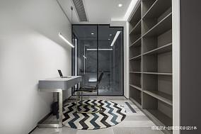优雅218平现代别墅书房设计美图别墅豪宅现代简约家装装修案例效果图