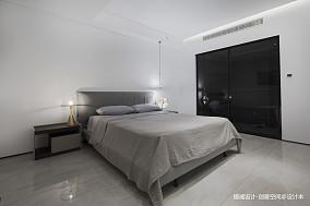 悠雅404平现代别墅卧室装潢图别墅豪宅现代简约家装装修案例效果图