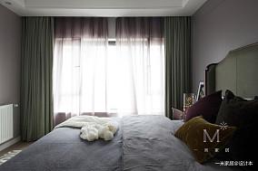 典雅75平欧式复式卧室装修效果图复式欧式豪华家装装修案例效果图