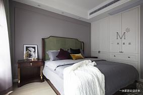温馨85平欧式复式卧室设计图复式欧式豪华家装装修案例效果图