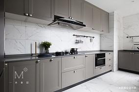 大气43平欧式复式厨房装修设计图
