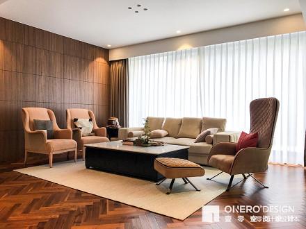 温馨468平现代复式客厅装饰图片复式现代简约家装装修案例效果图
