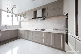明亮54平美式复式厨房美图复式美式经典家装装修案例效果图
