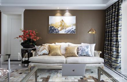 温馨305平美式复式布置图复式美式经典家装装修案例效果图