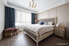 简洁79平美式复式卧室装修设计图复式美式经典家装装修案例效果图