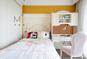 悠雅72平美式复式儿童房效果图片大全复式美式经典家装装修案例效果图