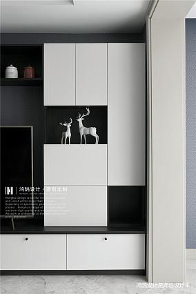 平现代三居客厅装饰美图三居现代简约家装装修案例效果图