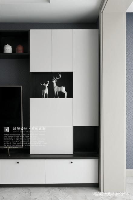 2019119平现代三居客厅装饰美图
