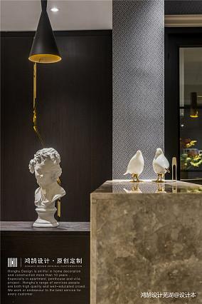 明亮75平现代三居餐厅案例图三居现代简约家装装修案例效果图