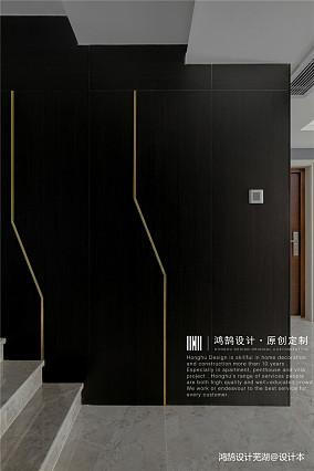 温馨97平现代三居过道装饰图片三居现代简约家装装修案例效果图