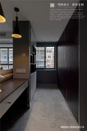 简洁73平现代三居休闲区实景图三居现代简约家装装修案例效果图