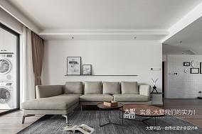 优雅180平北欧三居客厅图片大全