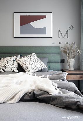 典雅56平现代二居装饰美图二居现代简约家装装修案例效果图