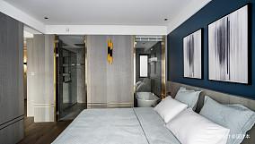 简洁77平简约二居卧室装修图片卧室现代简约设计图片赏析