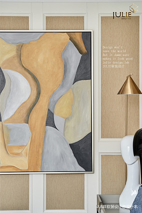大气106平美式四居客厅设计图四居及以上美式经典家装装修案例效果图
