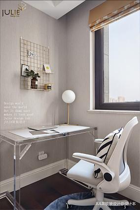 浪漫101平美式四居书房效果图四居及以上美式经典家装装修案例效果图
