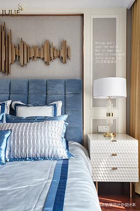 优美151平美式四居卧室装饰图片四居及以上美式经典家装装修案例效果图